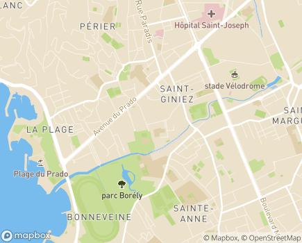 Localisation EHPAD Résidence La Renaissance - 13008 - Marseille 08