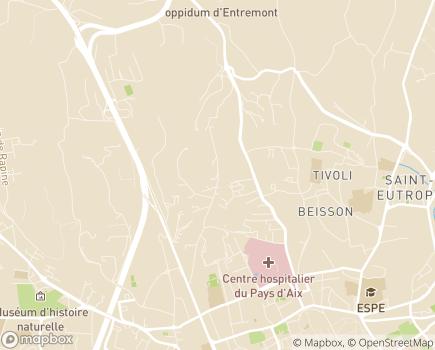 Localisation Isatis SAMSAH SASTH - 13090 - Aix-en-Provence