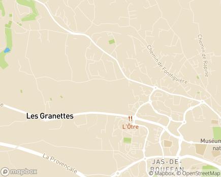 Localisation HAD Clara Schumann - 13090 - Aix-en-Provence