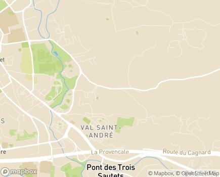 Localisation Emera - AHPA - EHPAD Eléonore - 13100 - Aix-en-Provence