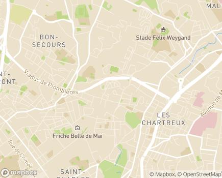 Localisation EHPAD Horizon Bleu - 13004 - Marseille 04