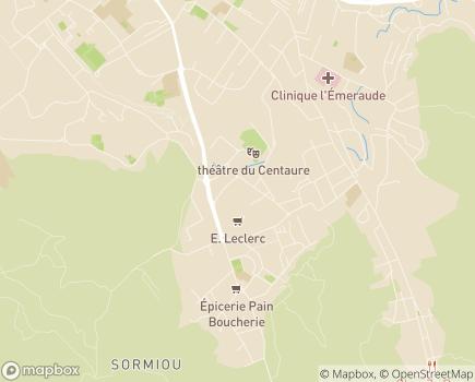 Localisation Korian L'Escale du Baou - 13009 - Marseille 09