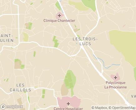 Localisation EHPAD Résidence Saint-Luc - 13012 - Marseille 12