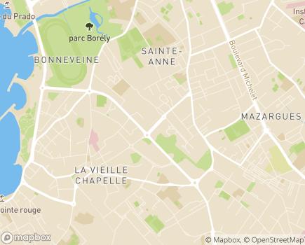 Localisation ACAD SSIAD - 13008 - Marseille 08