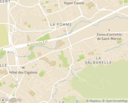 Localisation Résidence Autonomie Les Romarins - 13010 - Marseille 10