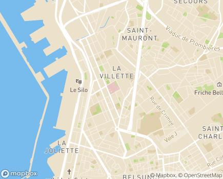 Localisation Hôpital Européen - 13003 - Marseille 03