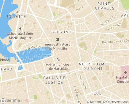 Localisation ACS Consultants - 13001 - Marseille 01