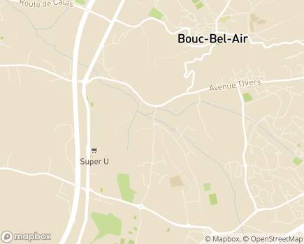 Localisation Hospitalisation à Domicile HAD 13 - 13320 - Bouc-Bel-Air