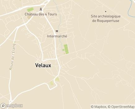 Localisation Résidence L'Arbois - 13880 - Velaux