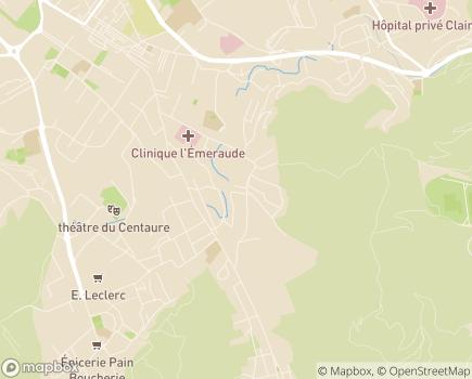 Localisation EHPAD Résidence Les Jardins de Beauvallon - 13009 - Marseille 09