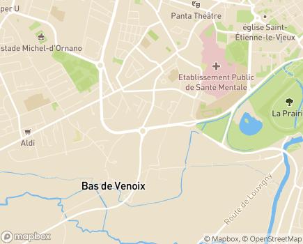 Localisation MSA Côtes Normandes - 14000 - Caen