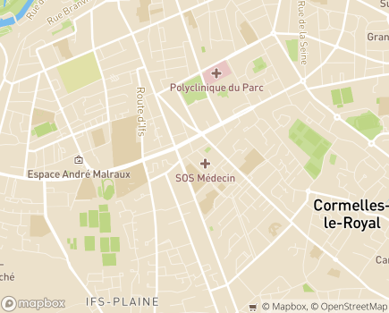Localisation ARS de Normandie - Délégation Départementale du Calvados - 14050 - Caen