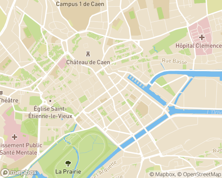 Localisation Centre Communal d'Action Sociale - 14012 - Caen
