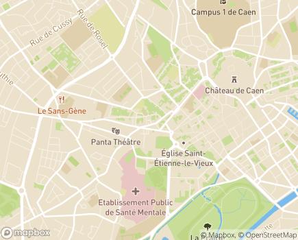 Localisation EHPAD Résidence Les Rives Saint-Nicolas - 14000 - Caen