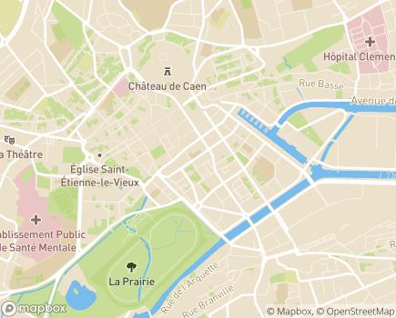 Localisation AMFP 14 - Aide aux Mères, aux Familles et aux Personnes à Domicile - 14000 - Caen