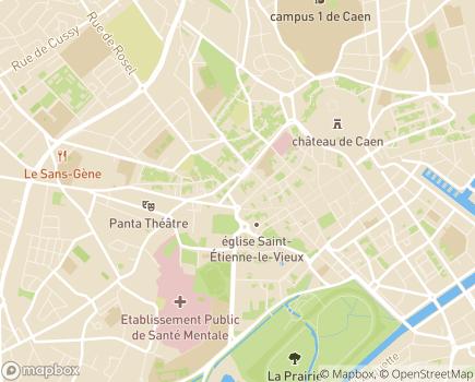 Localisation Caisse Primaire d'Assurance Maladie - 14031 - Caen