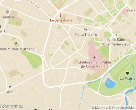 Localisation APAEI des Pays d'Auge et de Falaise - 14000 - Caen