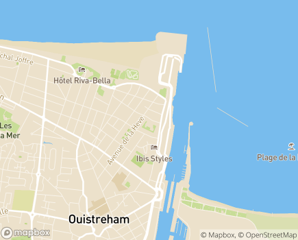 Localisation Korian - Clinique Thalatta - 14150 - Ouistreham