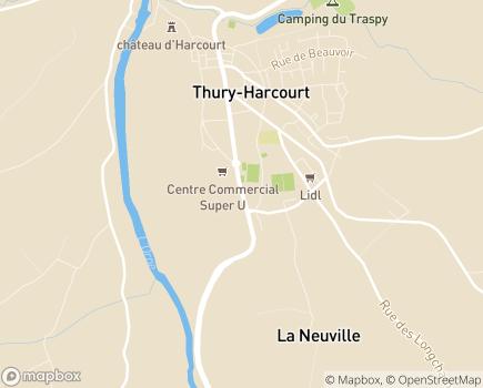 Localisation Fondation Asile de Marie-Thury-Harcourt - 14220 - Thury-Harcourt