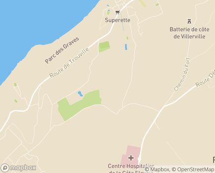 Localisation Centre de Réadaptation Cardiaque - 14113 - Cricqueboeuf
