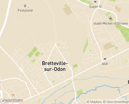 Localisation Emera - EHPAD Soleil - 14760 - Bretteville-sur-Odon