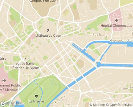 Localisation Mutualité Française Normandie - 14000 - Caen
