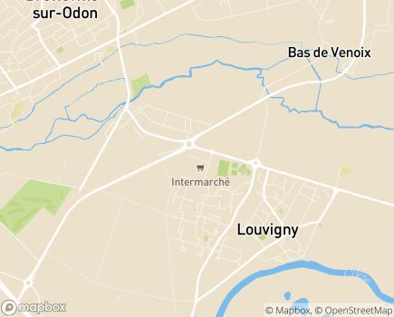 Localisation La Maison du Coudrier EHPAD - Adef Résidences - 14111 - Louvigny