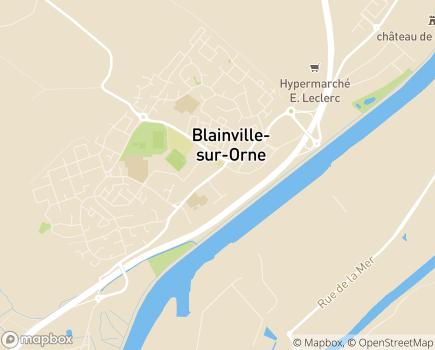Localisation Résidence Services La Roseraie - 14550 - Blainville-sur-Orne