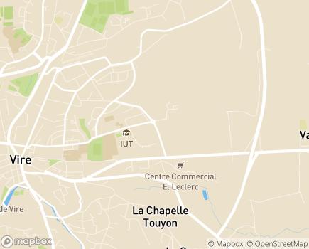 Localisation Résidence Services Le Karousel - 14500 - Vire Normandie