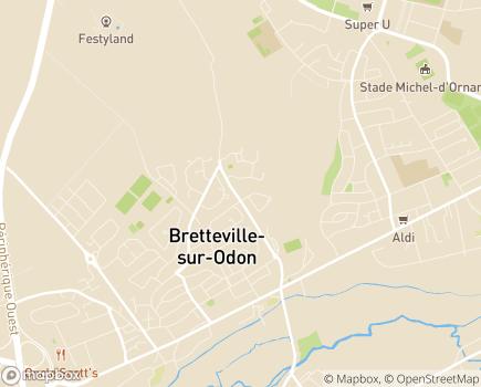 Localisation Emera - Résidence Autonomie Domaine de l'Arguilly - 14760 - Bretteville-sur-Odon