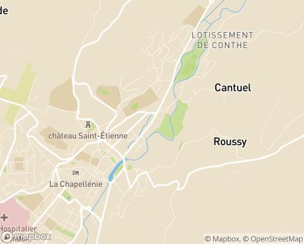 Localisation EHPAD Résidence de Limagne - 15000 - Aurillac
