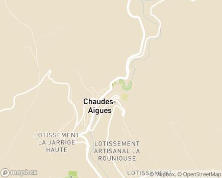 Localisation Centre Hospitalier Pierre Raynal - 15110 - Chaudes-Aigues