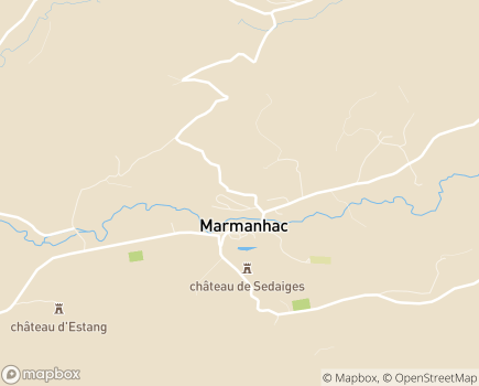 Localisation Institut Médico-Educatif la Sapinière - 15250 - Marmanhac