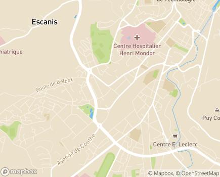 Localisation SESSAD Service d'Education Spécialisée et de Soins à Domicile - 15000 - Aurillac