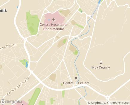 Localisation ADMR 15 - 15000 - Aurillac