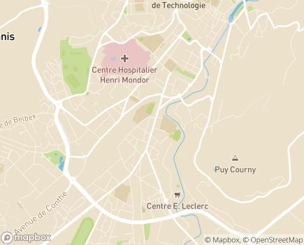 Localisation ADHAP - 15000 - Aurillac