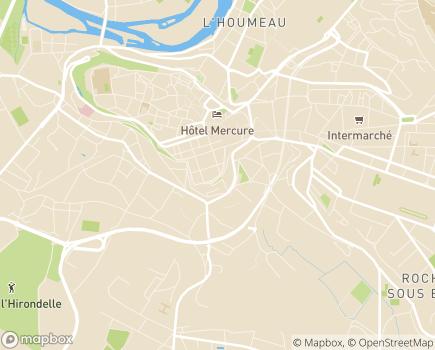 Localisation Conseil Départemental de la Charente - 16917 - Angoulême