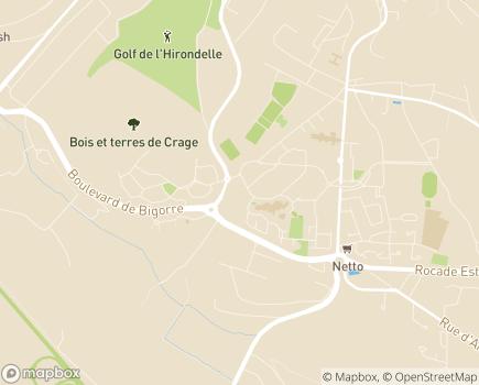 Localisation Direction de la Solidarité - 16000 - Angoulême