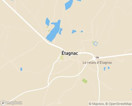 Localisation Résidence du Parc Sainte Marie - 16150 - Étagnac