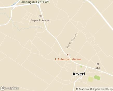 Localisation EHPAD Résidence Beauséjour - 17530 - Arvert