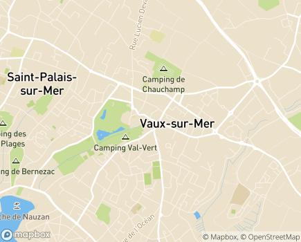 Localisation Résidence du Logis des Vaux - 17640 - Vaux-sur-Mer
