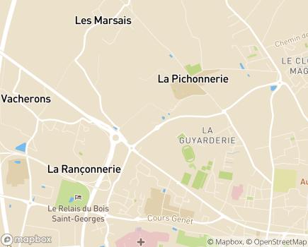 Localisation AIDER 17 - 17105 - Saintes