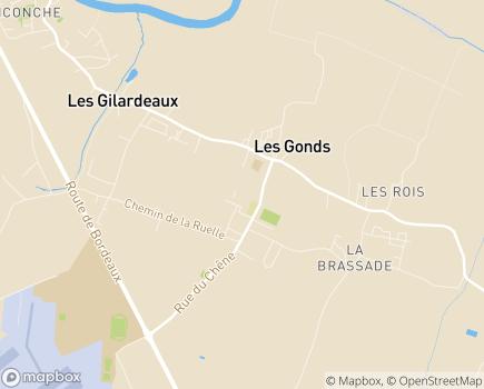 Localisation Domitys Le Clos de la Seigneurie - Résidence avec Services - 17100 - Les Gonds
