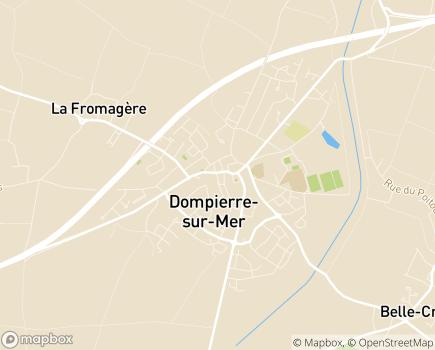 Localisation Domitys Le Clos du Cèdre - Résidence avec Services - 17139 - Dompierre-sur-Mer