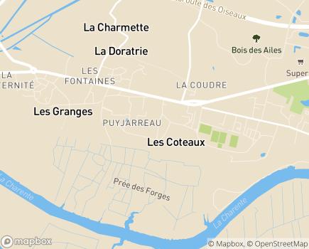 Localisation Les Résidentiels - Résidence Seniors avec Services - Tonnay-Charente - 17430 - Tonnay-Charente
