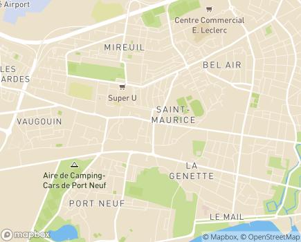 Localisation Service d'Aide à Domicile Centre Communal d'Action Sociale la Rochelle - 17000 - La Rochelle