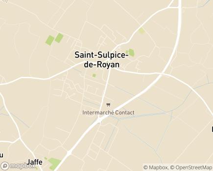Localisation Les Résidentiels - Résidence Seniors avec Services - Saint-Sulpice-de-Royan - 17200 - Saint-Sulpice-de-Royan