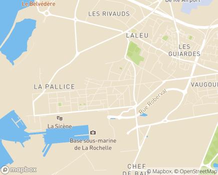Localisation SSIAD - Mutualité Française 17 - SSAM - Equipe Spécialisée Alzheimer - ESA - 17000 - La Rochelle