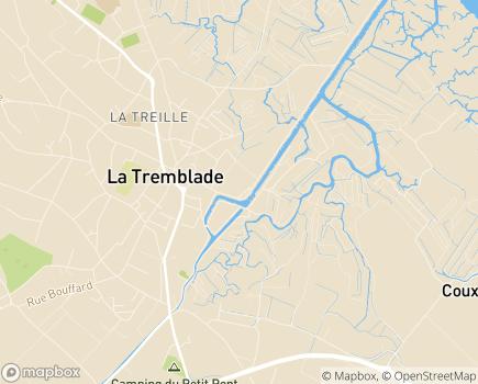 Localisation Domitys La Perle de Nacre - Résidence avec Services - 17390 - La Tremblade