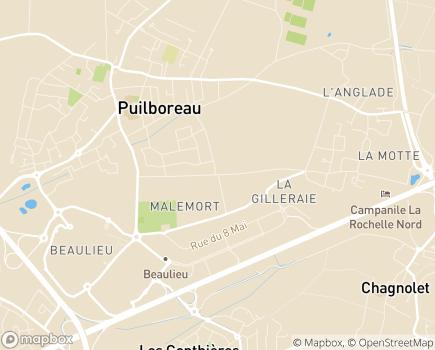 Localisation Domitys Les Vignes Pourpres - Résidence avec Services - 17138 - Puilboreau
